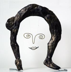 brons/zilverplastiek Het Paar-I