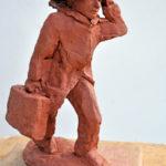 wereldreiziger terracotta