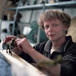 Fransvanderven werkt aan bronzen beelden