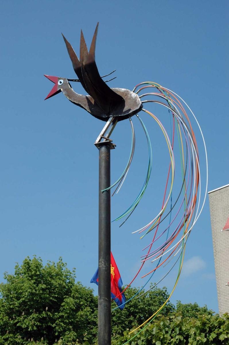 Paradijsvogel bij Buitenhaeghe in Almere Buiten